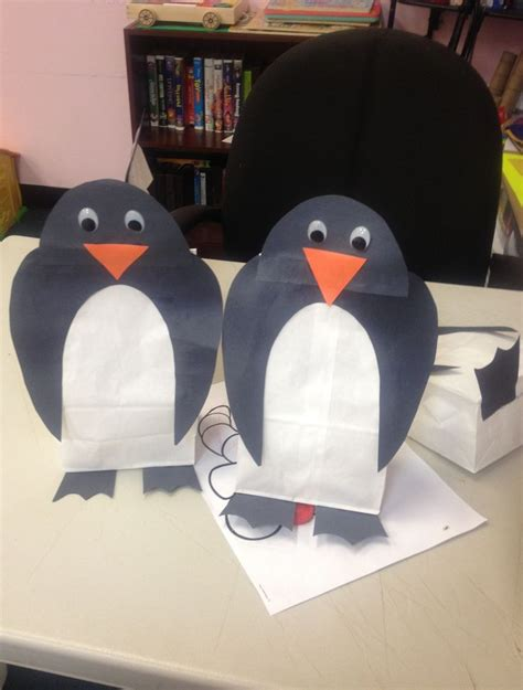 Penguin Paper Crafts - 114 best sarkvid 233 k images on arctic animals