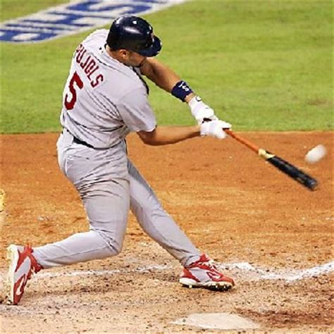 swing hitter baseball photos of albert pujols swing
