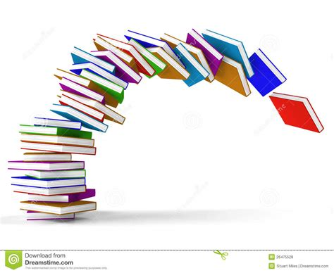 the of falling books stack of falling books royalty free stock photos image