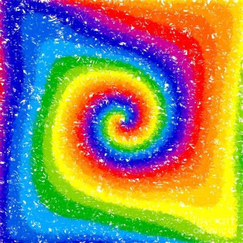 i can see a rainbow digital chris d elia and rainbow painting