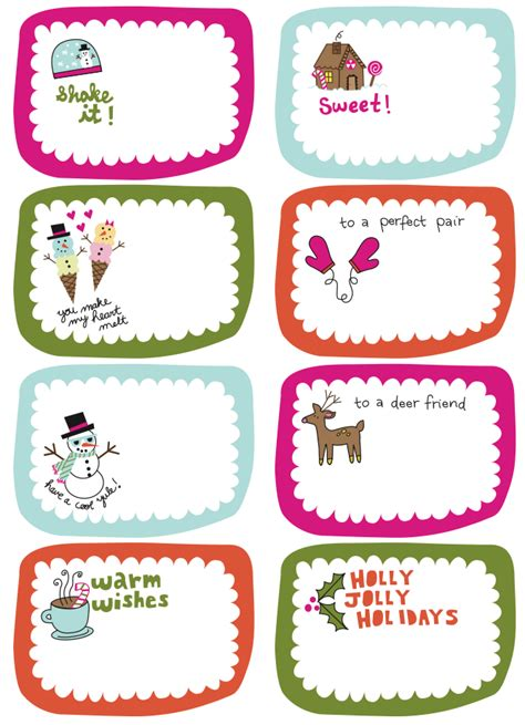 printable winter gift tags frugal life project free printable gift tags love the