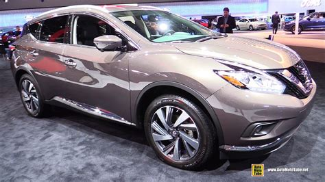 nissan murano 2017 platinum 2017 nissan murano platinum exterior and interior