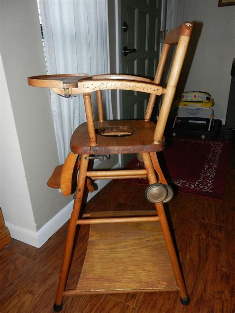 Vintage Convertible High Chair by 15 Vintage Convertible High Chair Gisele Bundchen