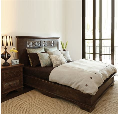 Rustic Wood Bed Frames Canada California King Size Bed Frame With Rustic Headboard