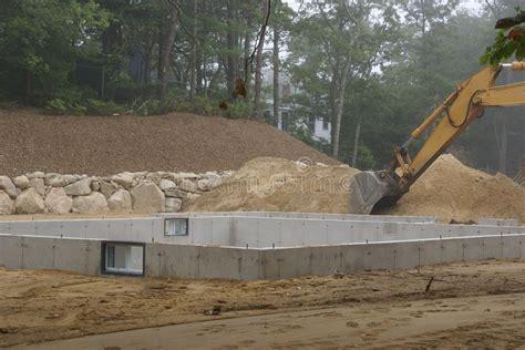100 poured concrete house new poured concrete a new house poured concrete foundation after the forms are