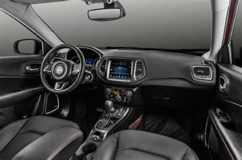 jeep compass trailhawk interior updated jeep reveals all compass at plant opening in