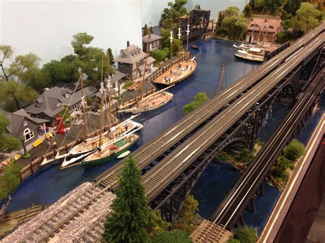 boat yard layout a trip to trainfest small model railroads