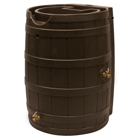 home depot barrel fan wizard 65 gal barrel rw65 oak the home depot