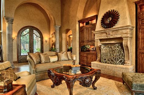 Tuscan Living Rooms | tuscan stage decorations house furniture