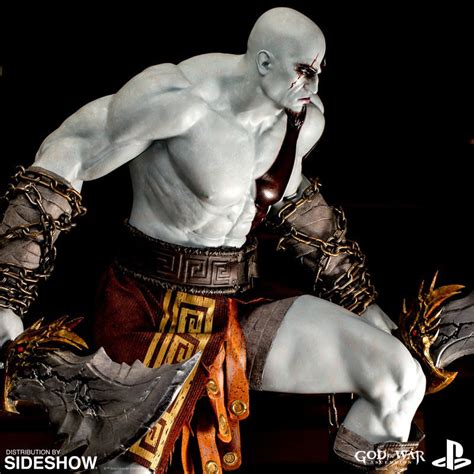 god of war ascension unchained kratos comes to god of war kratos statue by efx sideshow collectibles