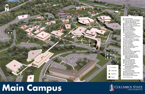 Columbus State Mba Admission Requirements by Maps
