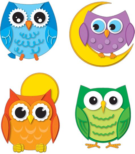colorful owls colorful owls temporary tattoos carson dellosa publishing