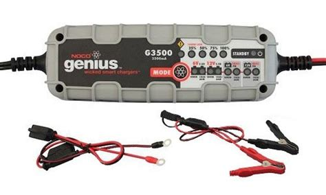 Noco G3500 35 Ultrasafe Battery Charger And Maintainer noco genius g3500 6v 12v 3 5a ultrasafe smart battery