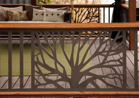 Wrought Iron Banister Spindles The Branches Panel The Porch Companythe Porch Company