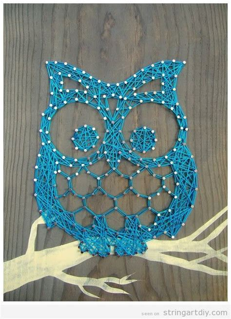 Owl String - owl string diy learn to make your own string