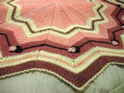beginner s round ripple allfreecrochetafghanpatterns com raspberry sherbet round ripple