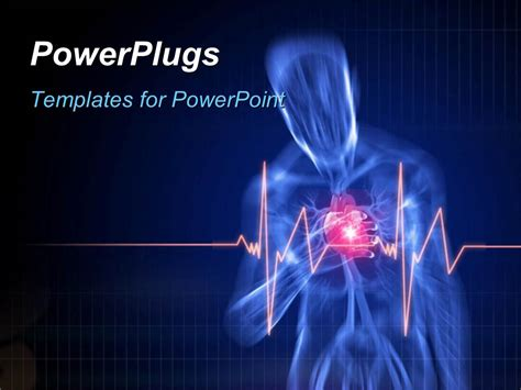 Heart Attack Powerpoint Template Powerpoint Templates On Cardiovascular Powerpoint Template Free