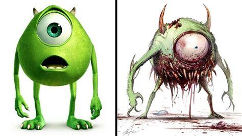 imagenes geniales de zombies as 237 se ver 237 an estos 10 personajes animados si fueran