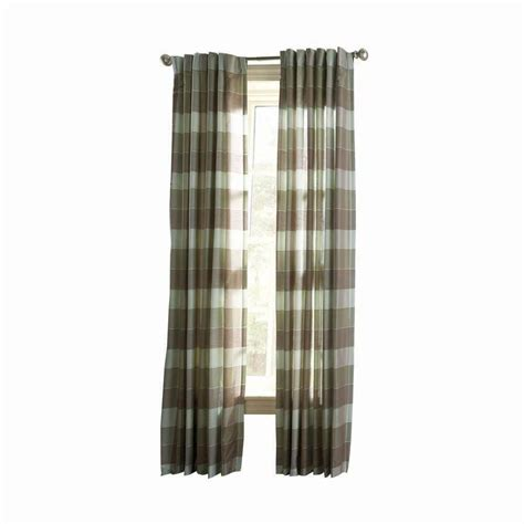 home depot curtains martha stewart martha stewart living spring melt faux silk plaid curtain