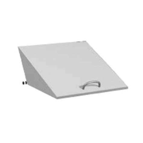 true pizza prep table parts true 870388 small replacement lid for tpp 93 pizza prep