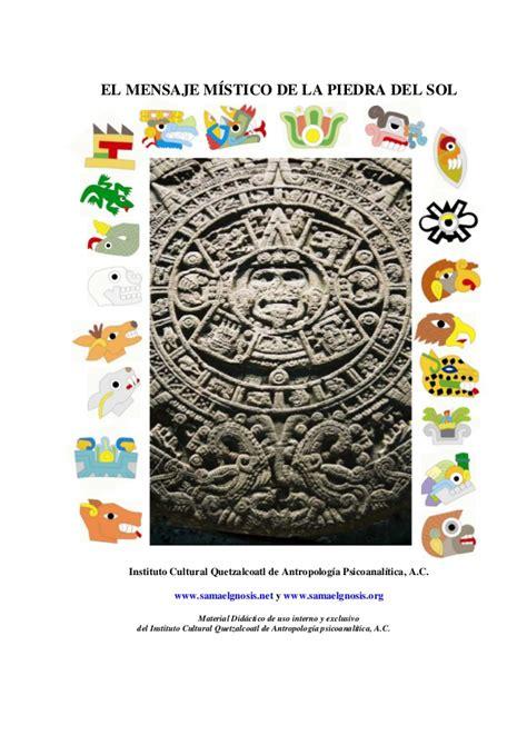 Calendario Azteca Significado Calendario Azteca