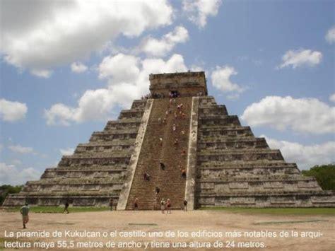 imagenes arquitectura maya chichen itza la piramide de kukulkan uno de los edificios