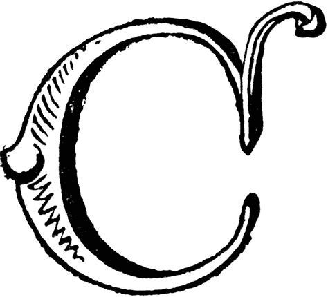 Decorative Letter C by Decorative Letter C Clipart Etc