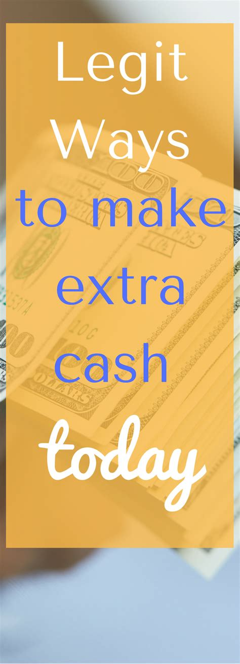 Making Extra Money Online Legitimately - legitimate ways to make extra money