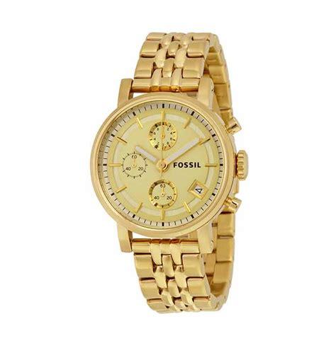 Jam Tangan Fossil Es2197 Original jual fossil boyfriend chronograph es2197 jam tangan wanita