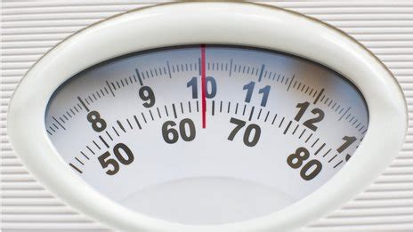 bathroom scales in stones and pounds bmi obesity measure needs to be lower for millions in uk