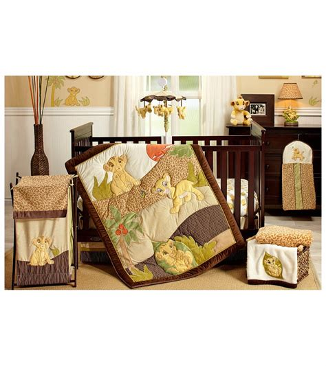 disney king 7 crib bedding set