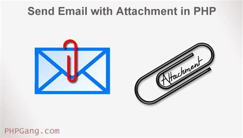 email with attachment how to send email with attachment in php phpgang com