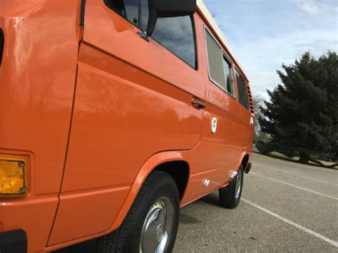 volkswagen van original interior 1980 vw vanagon westfalia camper bus with 44k miles all