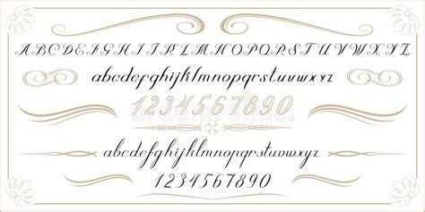 numeri scritti in lettere vecchi lettere e numeri scritti a mano di alfabeto