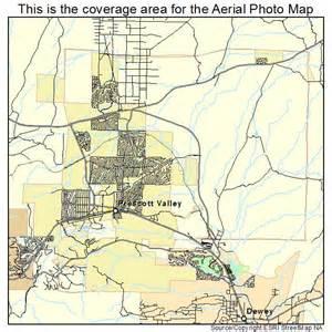 aerial photography map of prescott valley az arizona