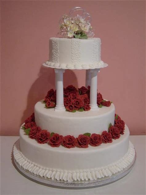 Wild Romance Wedding Cake