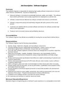 Software Engineering Manager Description by Description For A Software Engineer Hashdoc