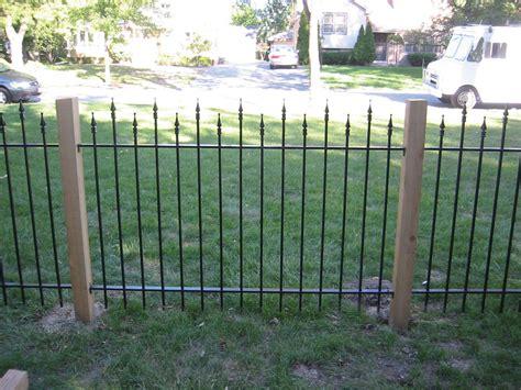 wrought iron fences chicago iron gate illinois wrought