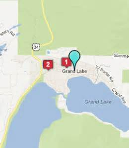 map of grand lake colorado grand lake co hotels motels see all discounts