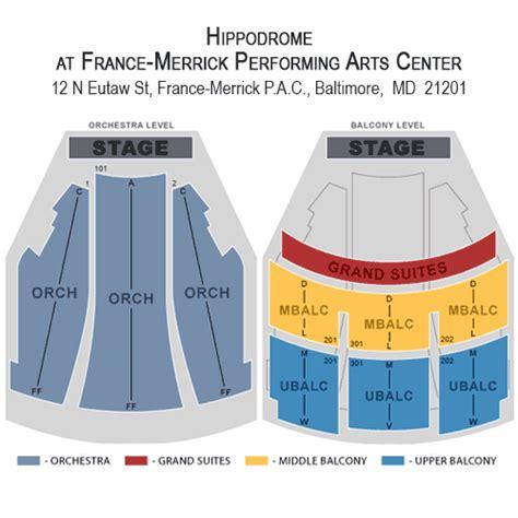 hippodrome baltimore seating chart jersey boys november 16 tickets baltimore hippodrome