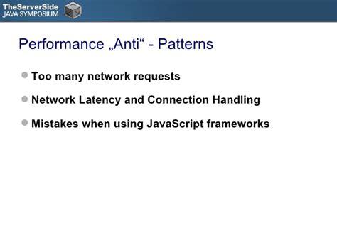anti pattern javascript tssjs2010 presenatation on performance anti patterns in