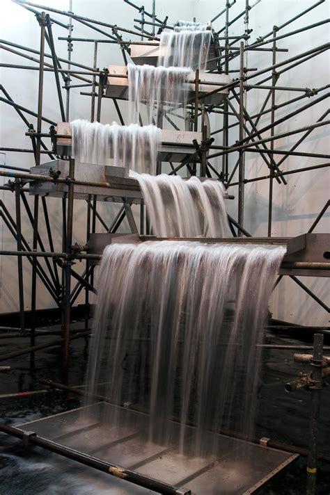waterfall artwork studio olafur eliasson