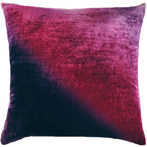 Kevin O Brien Pillows by Ombre Gradients Velvet Decorative Pillow By Kevin O Brien