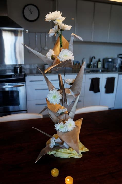 Origami Crane Centerpiece - 54 best cranes images on origami cranes paper