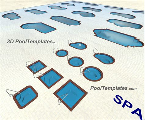 pool template 3d by pooltemplates