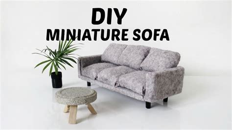 miniature couch diy miniature couch sofa mini doll house furniture