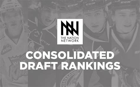 Nhl Draft Rankings Consolidated Draft Rankings For The 2017 Nhl Entry Draft