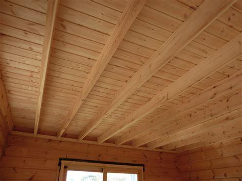 Lambris Bois Plafond by Lambris De Plafond Pare Vapeur La Maison En Bois Massif
