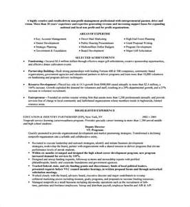 grant template for nonprofit sle non profit template 7 free documents in pdf