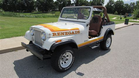 jeep cj renegade 1981 jeep cj 7 renegade t125 louisville 2016